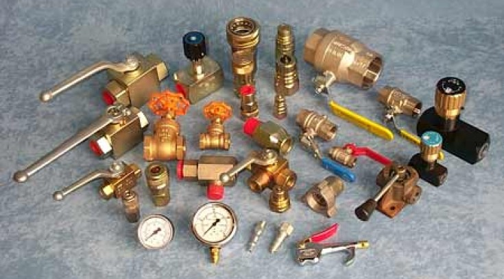 Couplings, Valves and Gauges